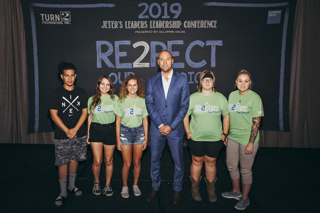 2019 Jeter's Leaders Leadership Conference presented by Goldman Sachs in Philadelphia, Pennsylvania on Thursday, August 8, 2019. (Photo by Taylor Baucom/The Players' Tribune)